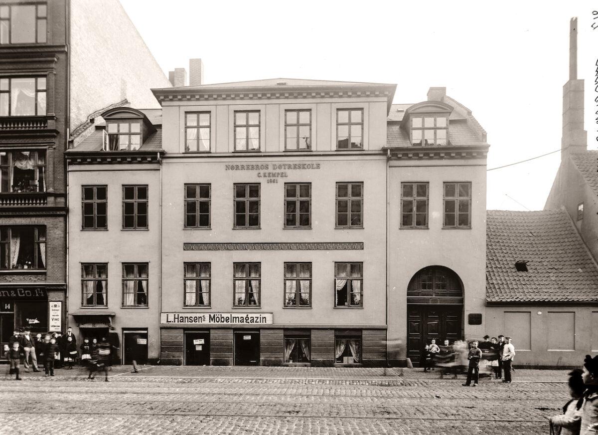 Fælledvej 12, Nørrebros ældste bygning