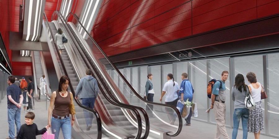 Her er de kommende metrostationer på Nørrebro