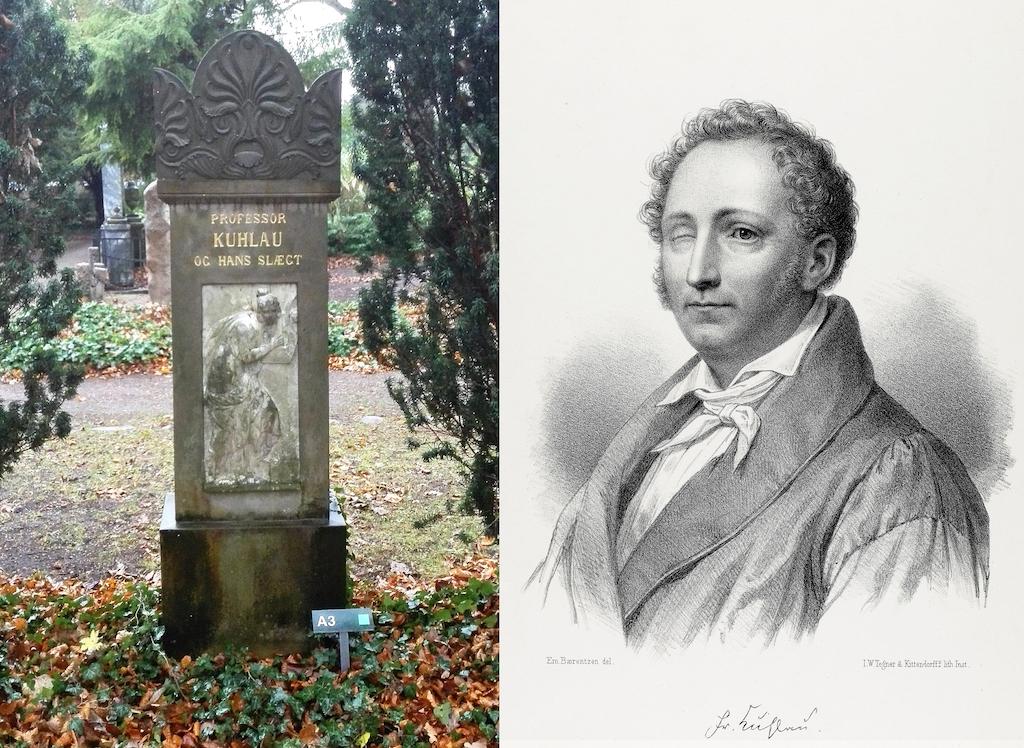 Friedrich Kuhlau på Assistens Kirkegård