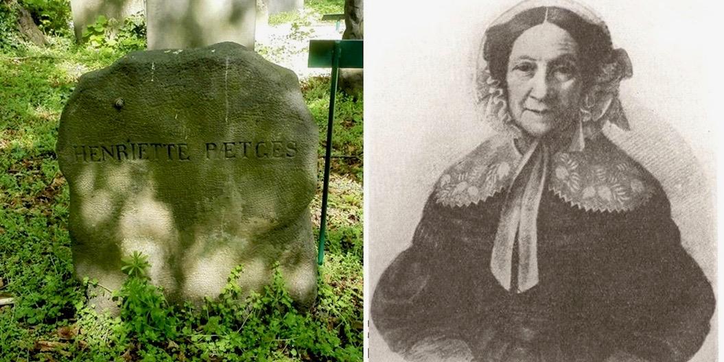 Henriette Pætges på Mosaisk Nordre Begravelsesplads