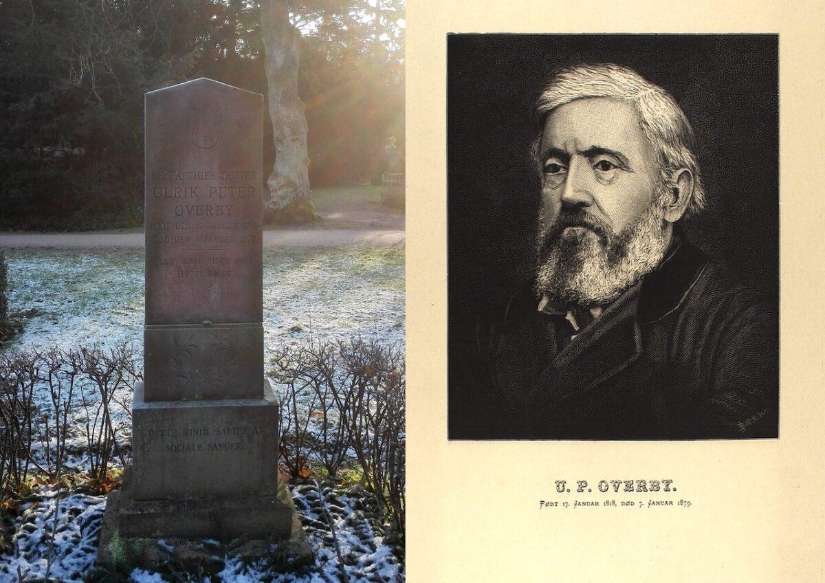 Ulrik Peter Overby på Assistens Kirkegård