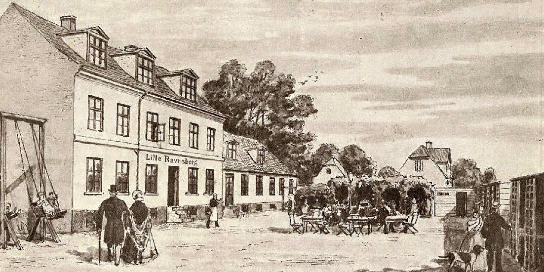 Gravøl og guldalderfødsel på Lille Ravnsborg