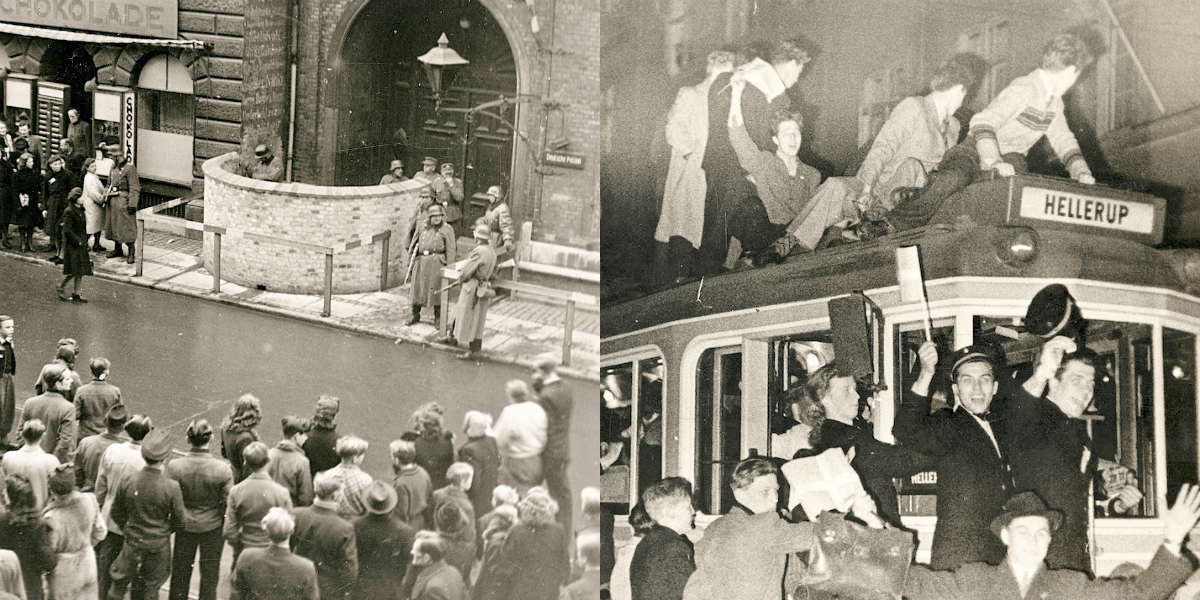 4. maj 1945: Befrielsen set fra Nørrebro