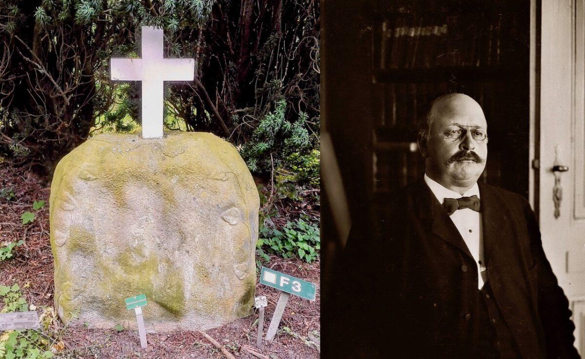P. A. Alberti på Assistens Kirkegård