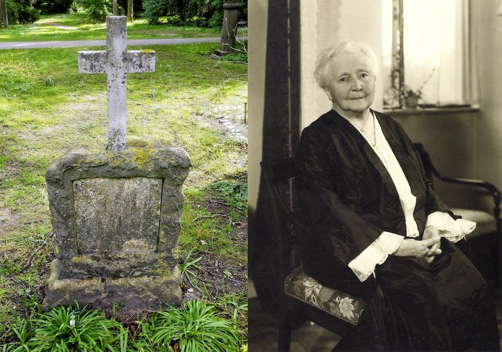 Sophie Alberti på Assistens Kirkegård