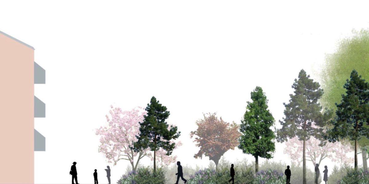 Nu sker det: Ny park i Stengade nærmer sig første spadestik