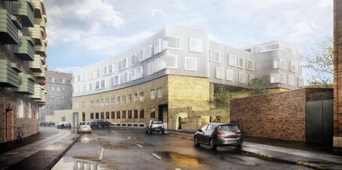 Nyt bygges oven på gammelt i Hermodsgade