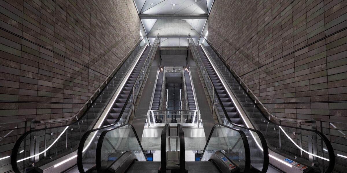 To uger til åbningen: Se billederne af Nørrebros nye metrostationer