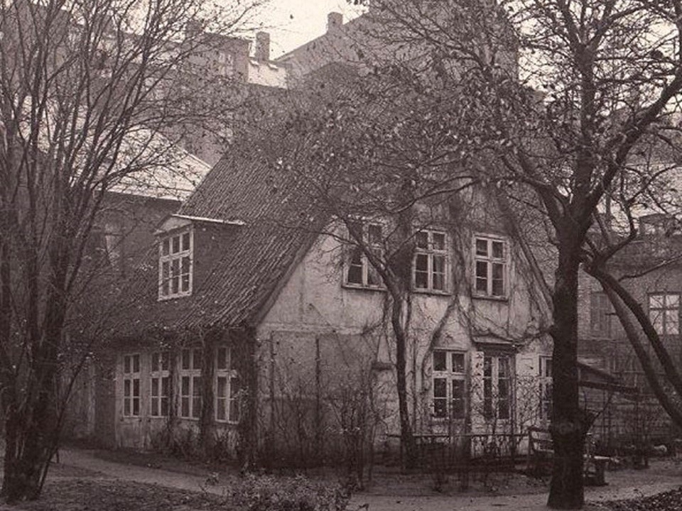 Frederik Høegh-Guldberg og Havehuset på Nørrebro
