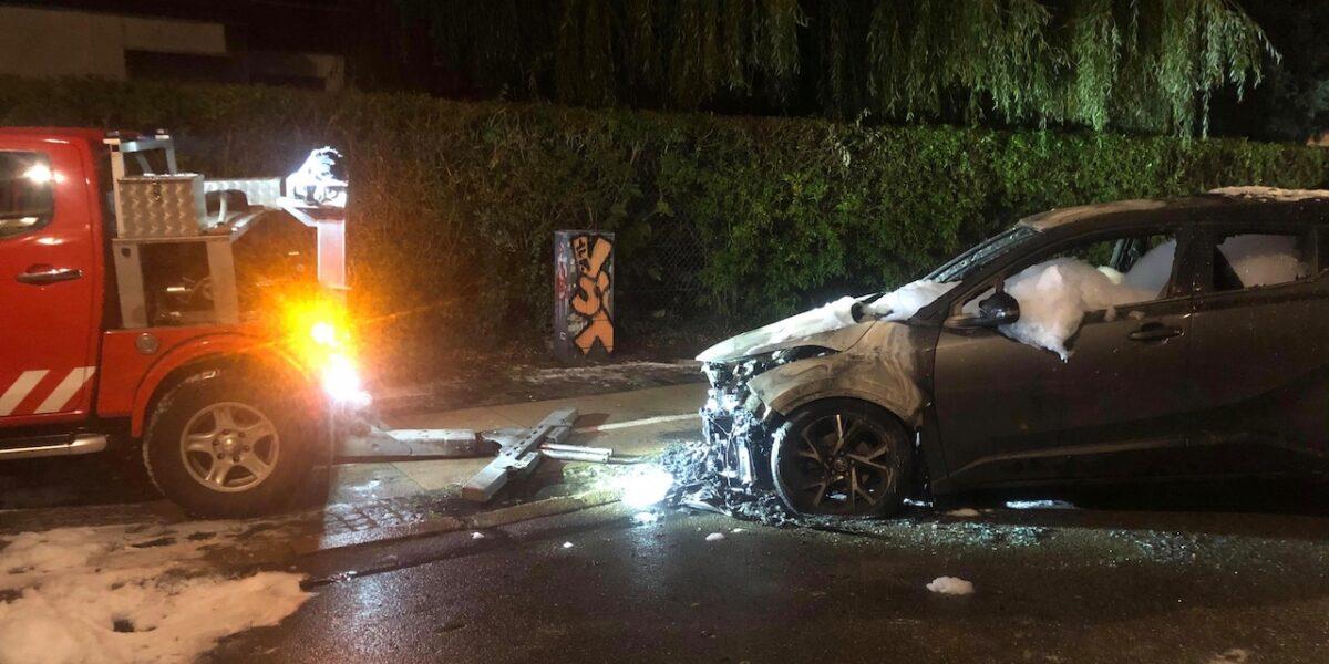Ny bilbrand i weekenden – nærpolitiet har skærpet fokus