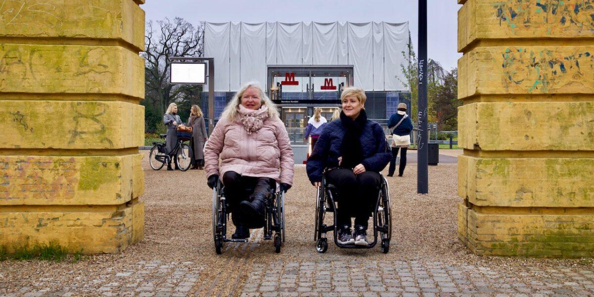 Metroen lover bedre handicap-forhold på Nørrebros Runddel