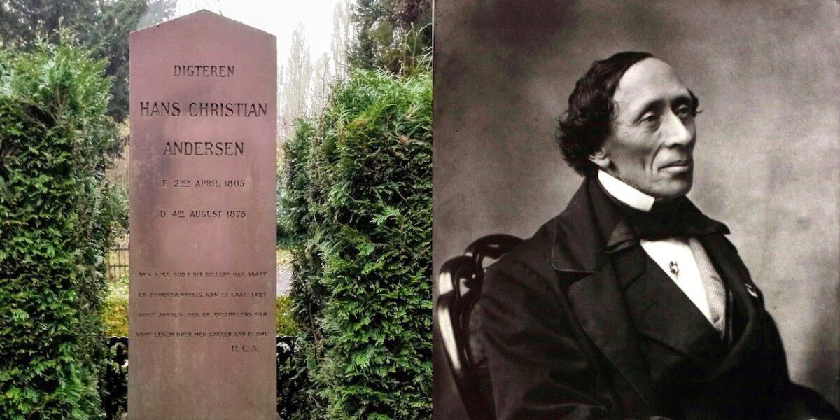 H. C. Andersen på Assistens Kirkegård