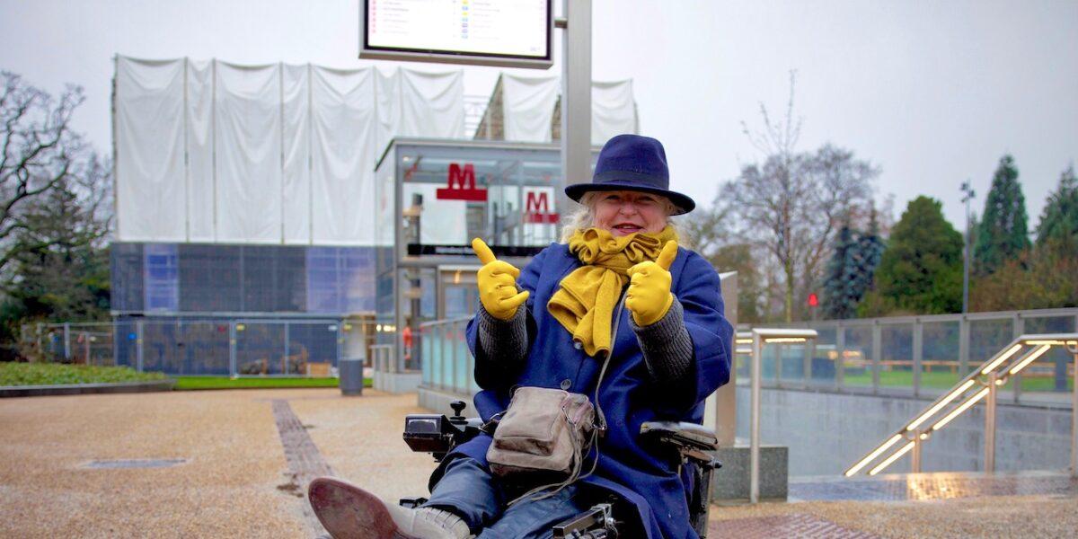 Fikset: Nu kan handicappede bruge metroen på Nørrebros Runddel