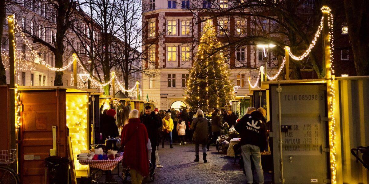 Så blev det jul på Nørrebro: se de stemningsfulde billeder