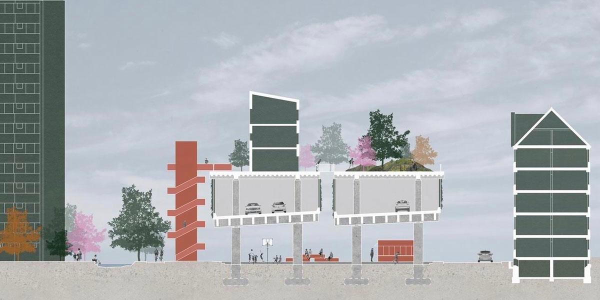 Ny vision: Bevar Bispeengbuen og byg ovenpå i stedet