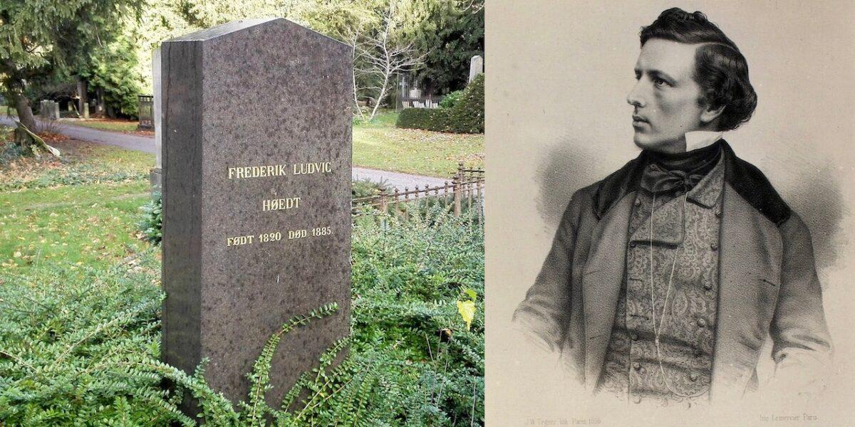 Frederik Ludvig Høedt på Assistens Kirkegård