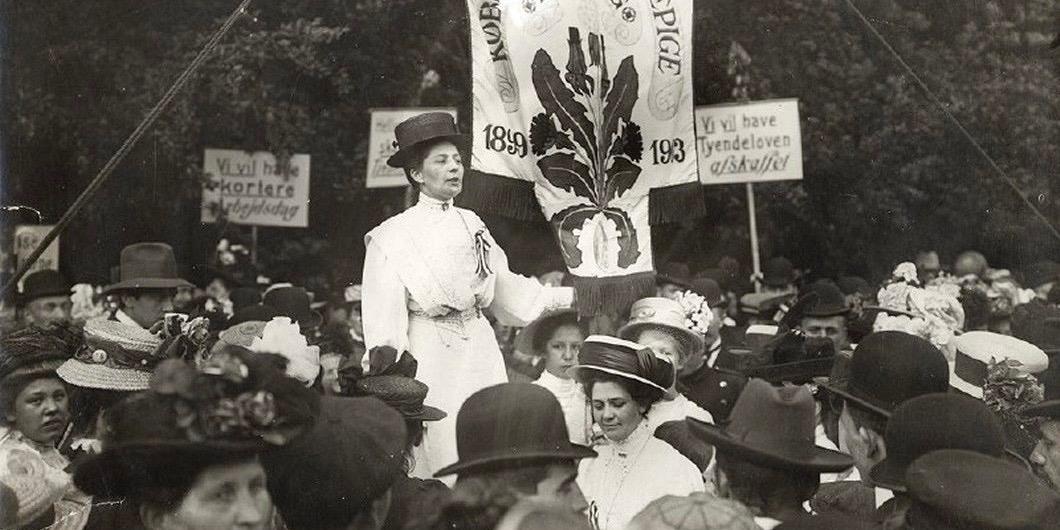 Marie Christensen: tjenestepige og moderne fagforeningskvinde