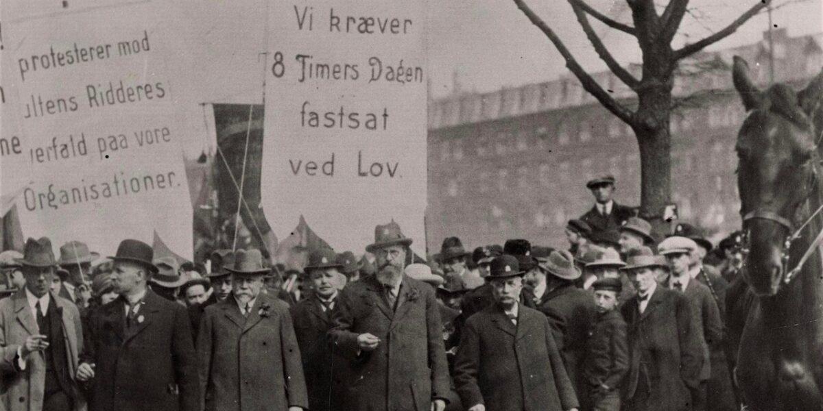 130 år med arbejderkamp, fest og faner på Nørrebro