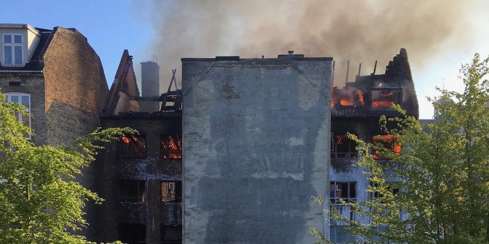 Efter branden: Dansk Islamisk Center åbner først igen til nytår