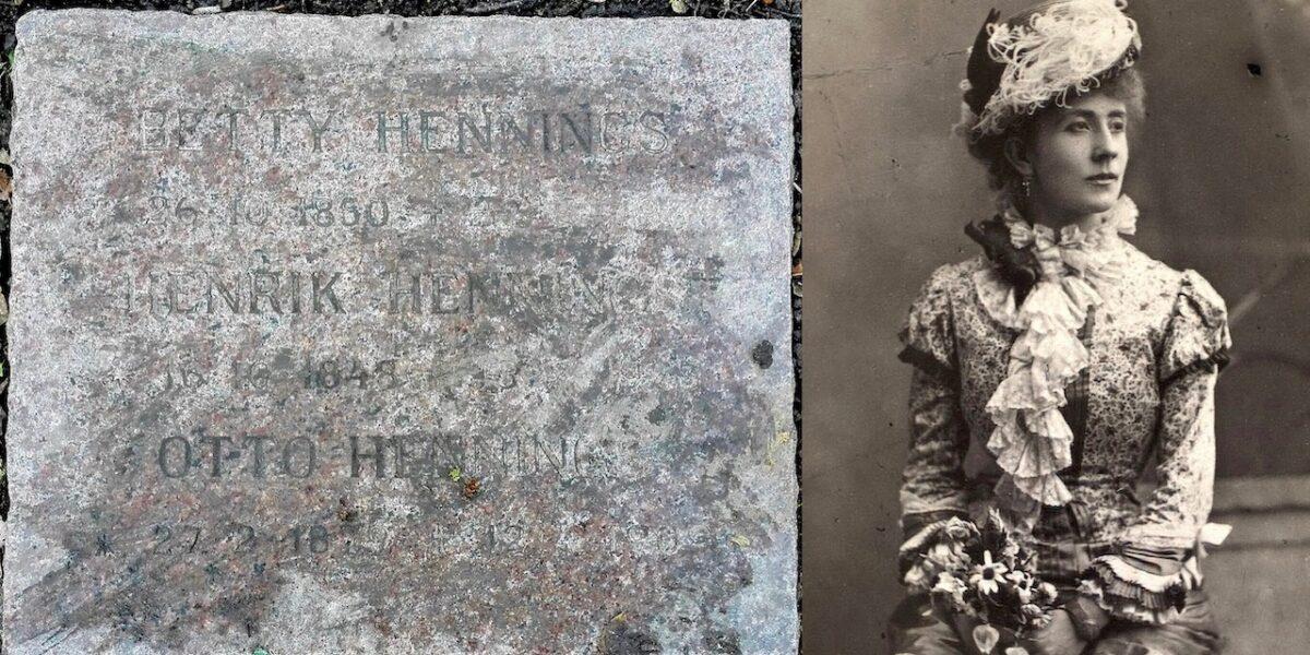 Betty Hennings på Assistens Kirkegård