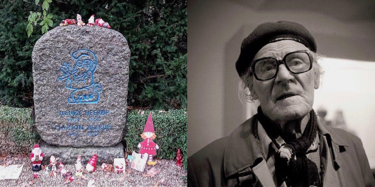 Nissen over dem alle: Henry Heerup på Assistens Kirkegård