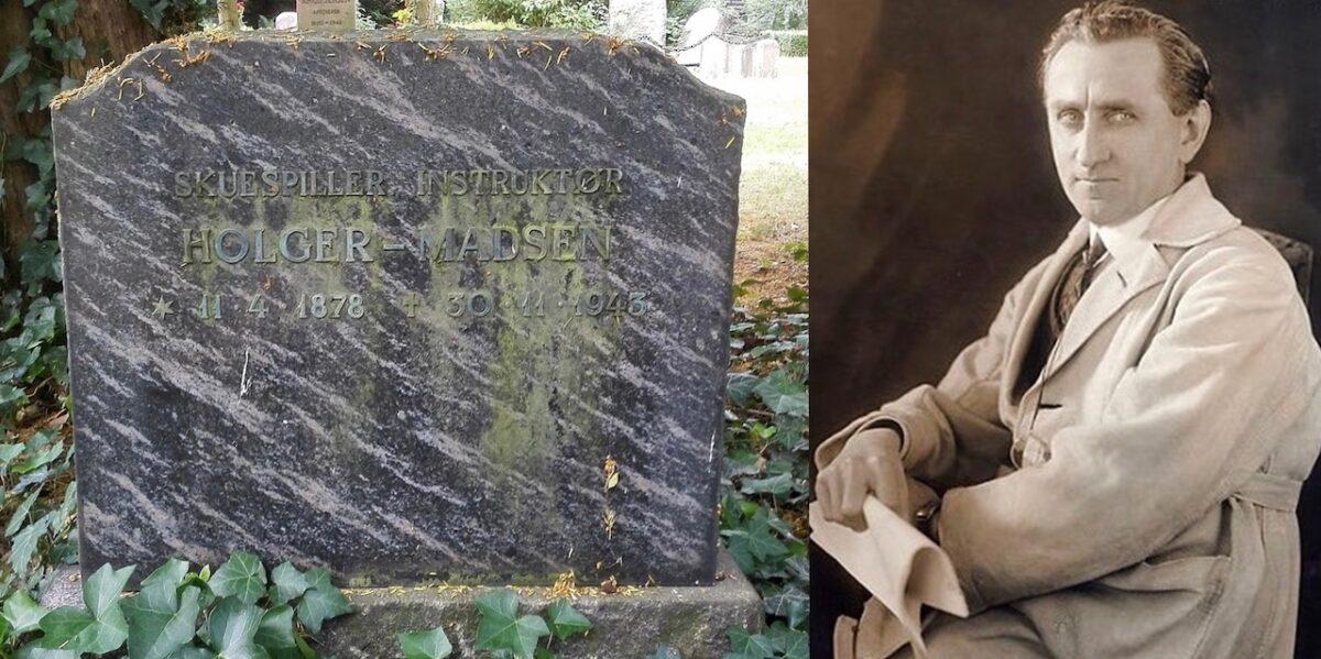 Holger-Madsen på Assistens Kirkegård