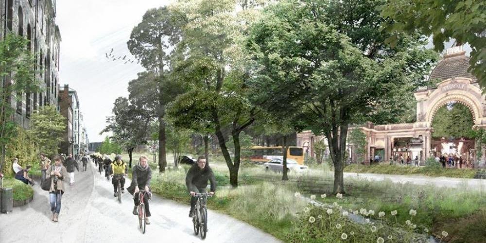 Scenarier for Grøn Boulevard er klar om knap to år