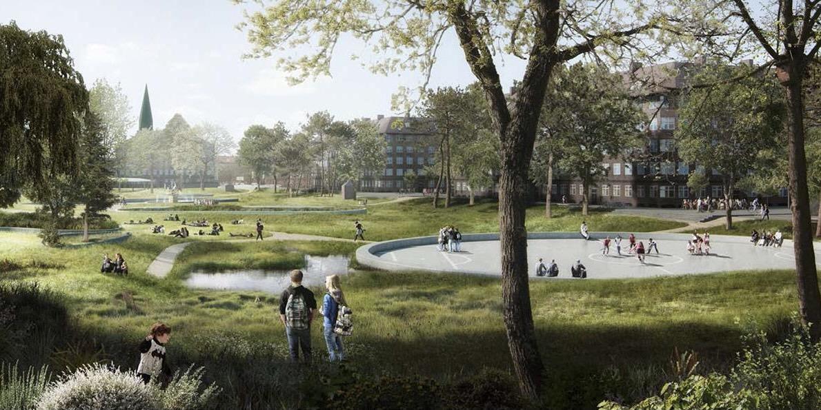 Nu sker det: Hans Tavsens Park skal være mere vild – og knap så flad