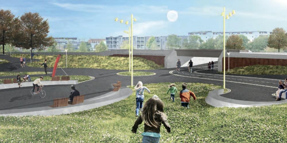 Planerne for den nye passage mellem Nørrebro og Nordvest er klar