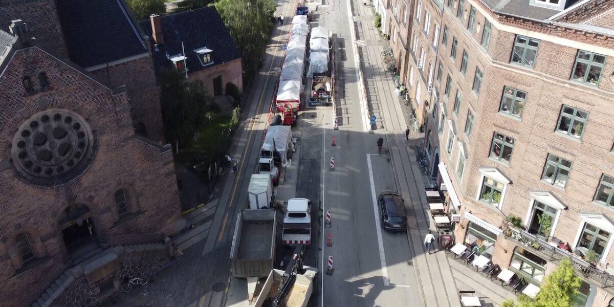 Nu sker det: Rantzausgade bliver atter åbnet for gennemkørsel